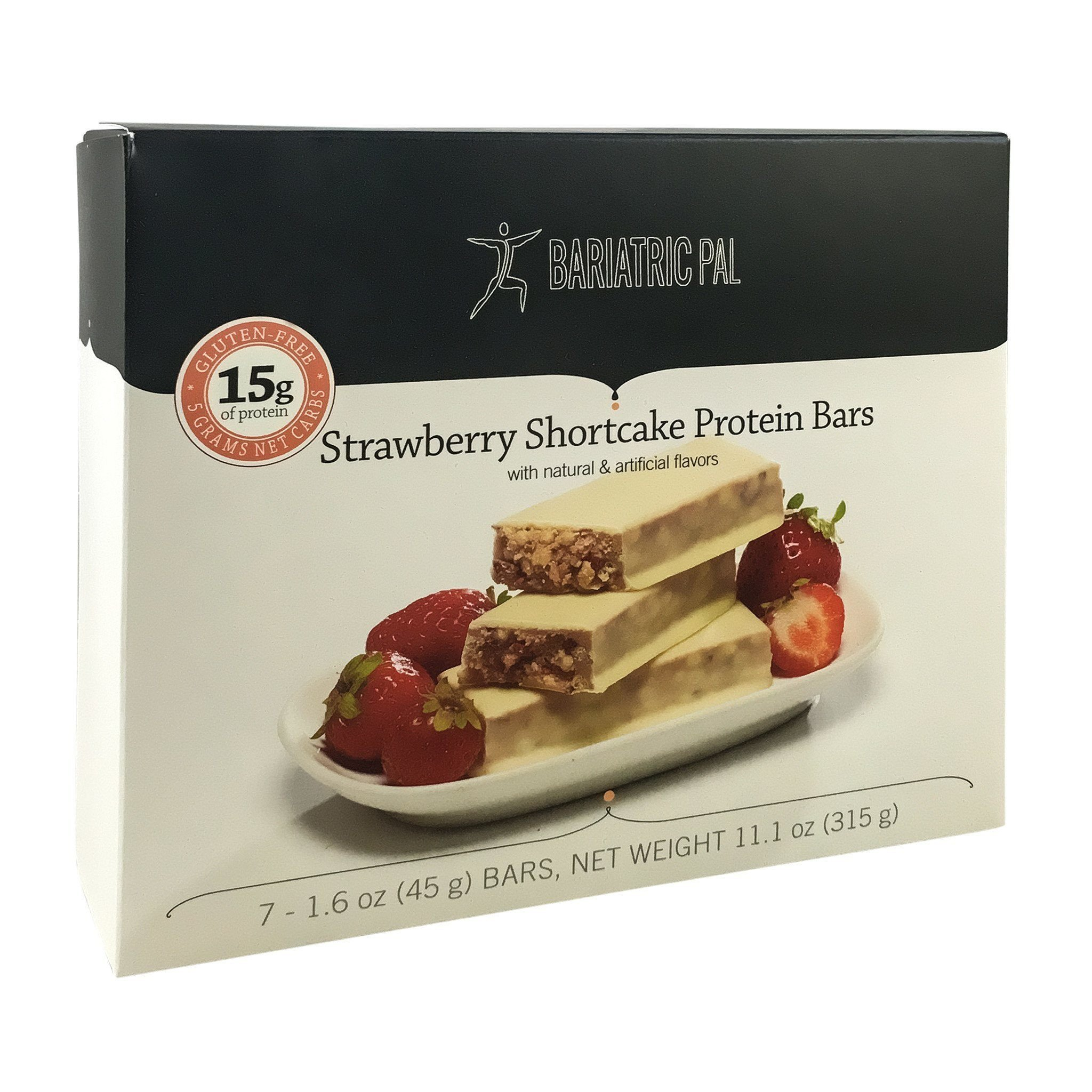 BariatricPal Low Carb Protein Bars - Strawberry Shortcake