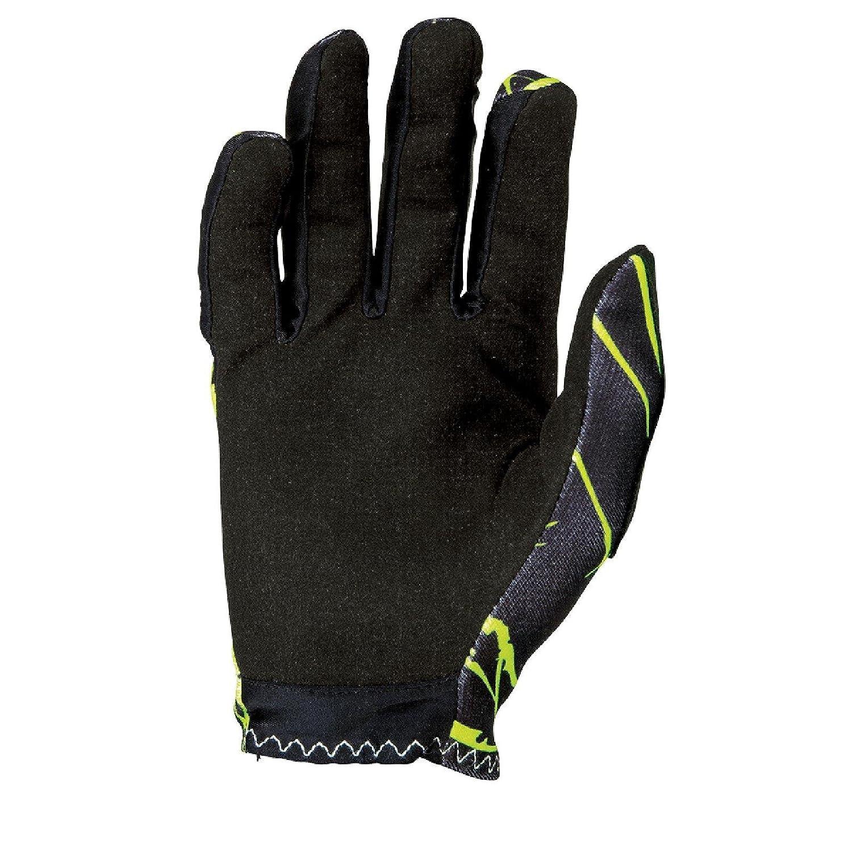 Homme ONeal Matrix Gants Enigma Noir Jaune Fluo MX VTT DH Motocross Enduro Offroad 0388M de 3 Cyclisme