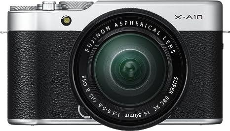 Fujifilm X-A10 - Cámara Evil de 16.3 MP (Pantalla táctil de 3 ...