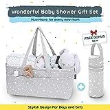 StarHug Baby Diaper Caddy Organizer - Baby Shower