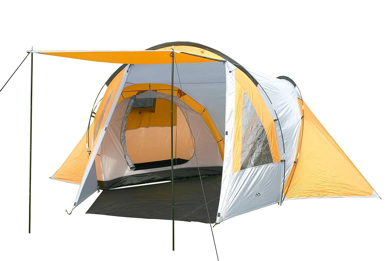 MONTIS HQ NEVADA DOME Zelt für 2 bis 4 Personen Mann, wasserdicht & ultra-leicht mit Innenzelt, Vordach & Moskitonetz, Premium-Zelt, geeignet als Reise- Trekking- & Caming-Zelt mit Tragetasche
