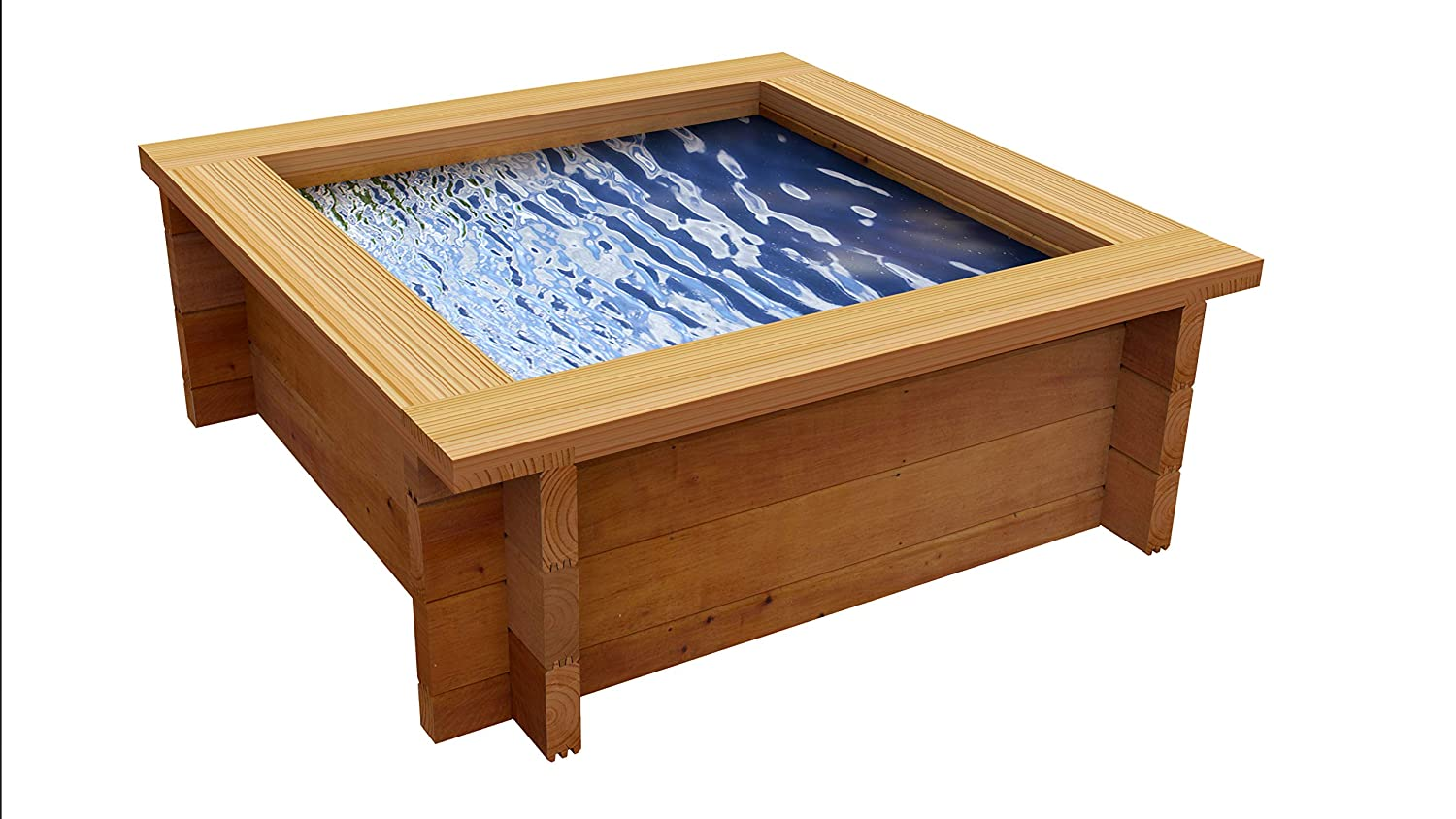16in Quickcrop Raised Ponds With Liner 4ft x 4ft (16in)