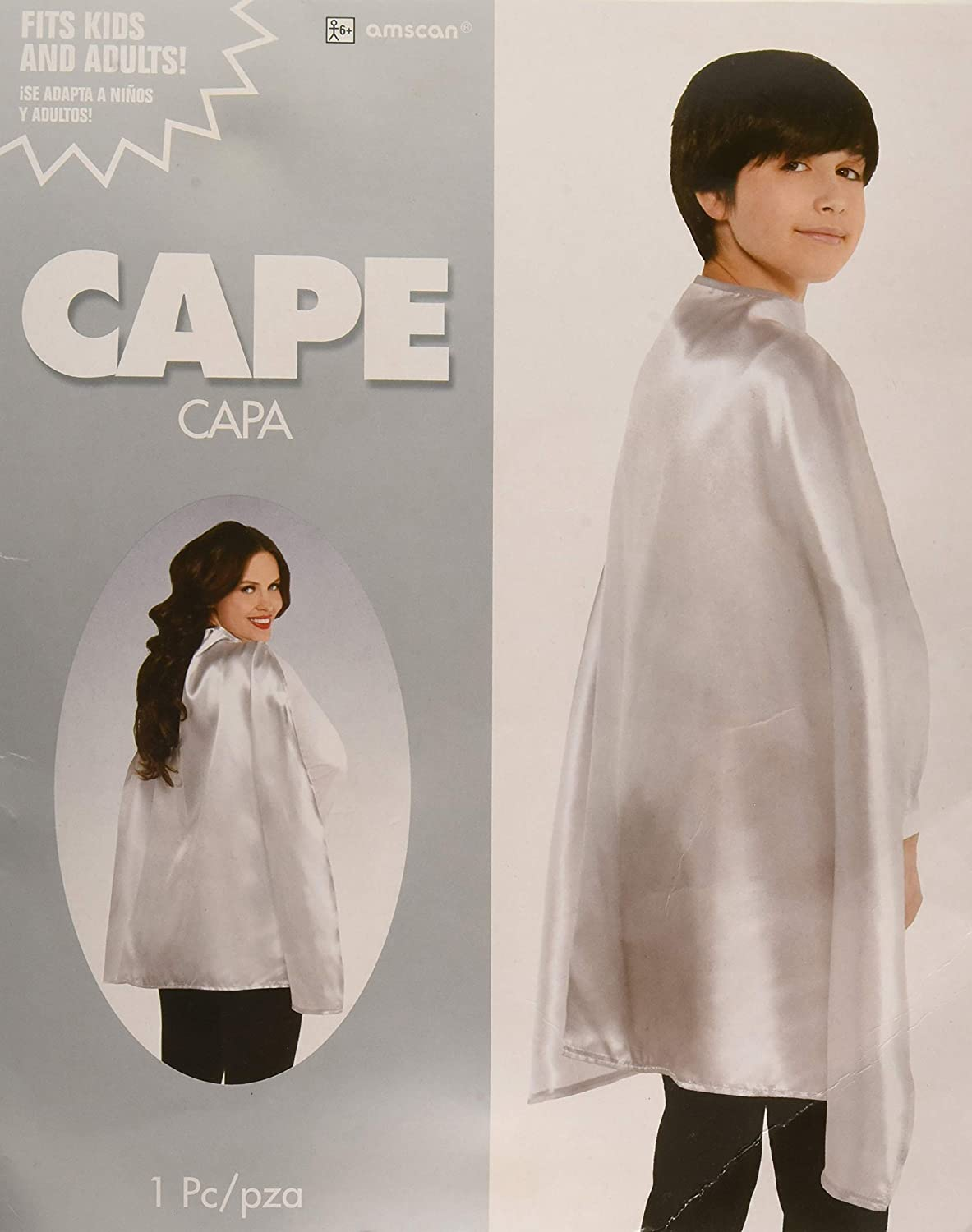 Turquoise Cape One Size Party Costumes and Accessories Amscan Party Supplies