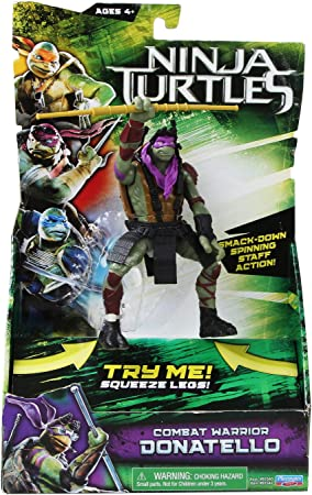 Teenage Mutant Ninja Turtles Movie Deluxe Donatello Figure