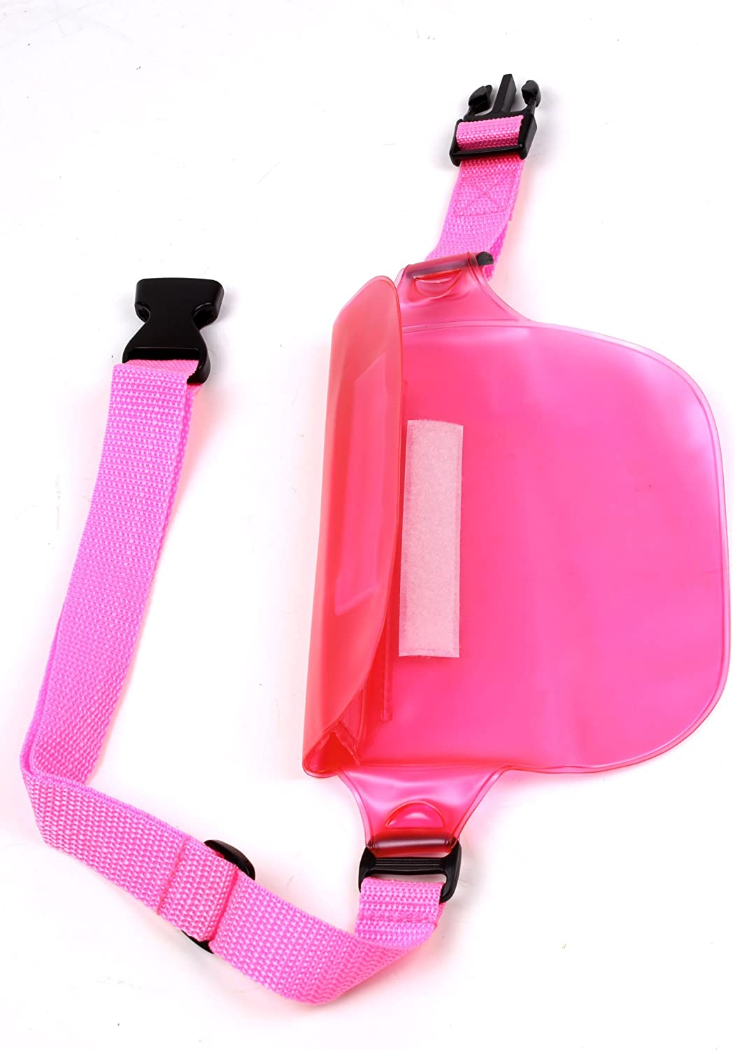 DURAGADGET All Purpose Pink Camcorder Waterproof Waist Bag//Dry Pouch for Contour 2HD Handsfree Action Camera Mustek DV316L Gopro Hero 3 Sport Camera