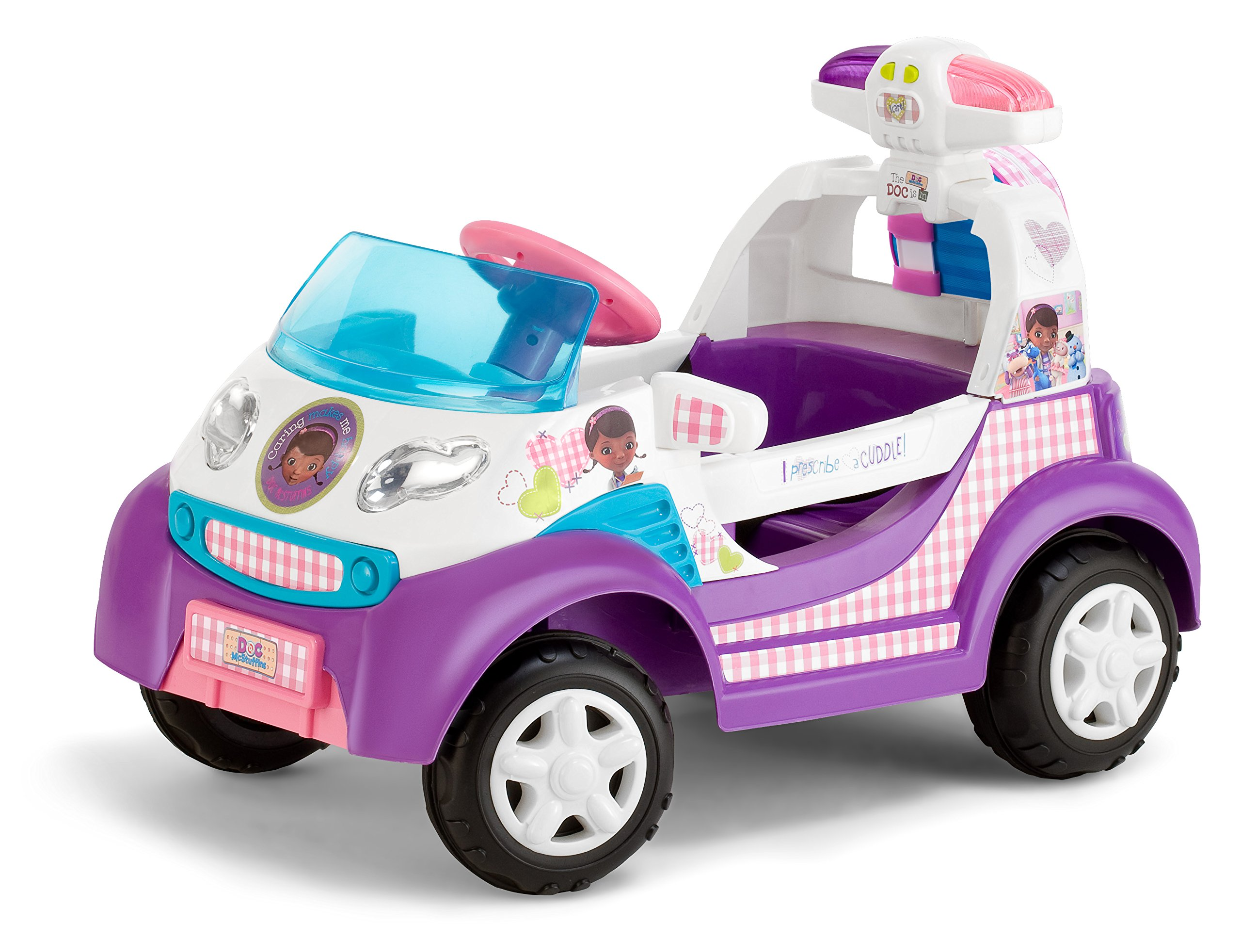 Kid Trax Doc McStuffins 6V Ambulance Ride On by Kid Trax (Image #1)