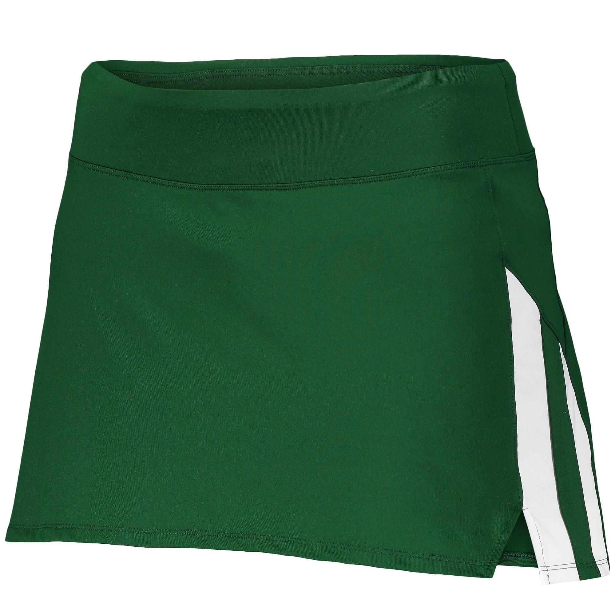 Augusta Sportswear Women's Full Force Skort S Dark Green/White
