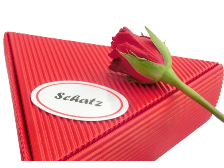 Geschenk Schatz Rosen- und Frucht Frühstückspaket 6 x 50g | gut als ...