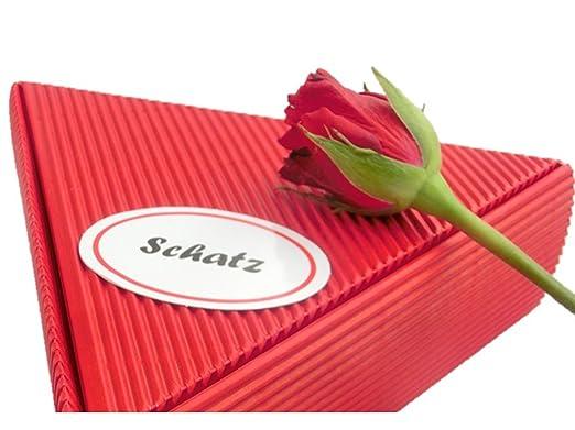 Geschenke Fã¼R Hochzeitstag | Geschenk Schatz Rosen Und Frucht Fruhstuckspaket 6 X 50g Gut Als