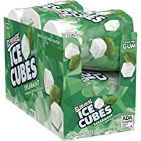 Ice Breakers Ice Cubes Sugar Free Gum with Xylitol, Spearmint, 40 Piece (Pack of 6)