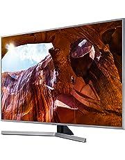"""Samsung UE43RU7450UXZT Smart TV 4K Ultra HD 43"""", Wi-Fi DVB-T2CS2, 3840 x 2160 Pixels, Silver, 2019 [Esclusiva Amazon]"""