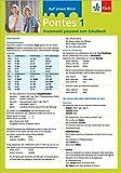 Pontes 1 - Auf einen Blick: Grammatik passend zum Schulbuch - Klappkarte (6 Seiten)