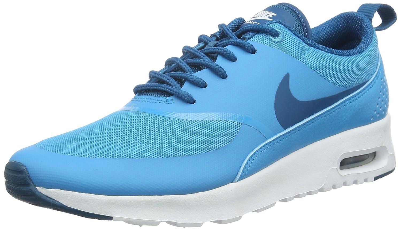 Bleu (411 bleu Lagoon vert Abyss-blanc) Nike Air Max Thea, Baskets Basses Femme 36.5 EU