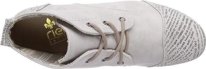 Rieker Damen 47042 Desert Boots, Weiß (Ice 81), 42 EU 3s4xw