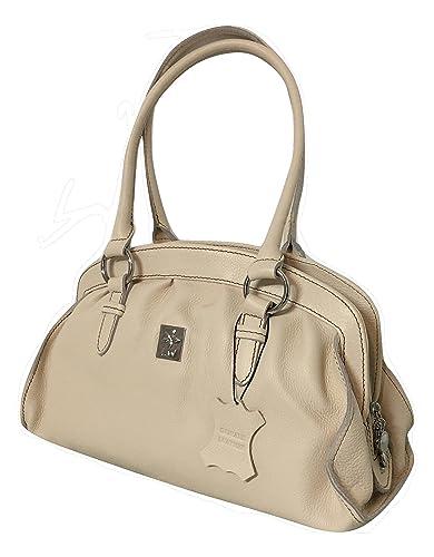 f4eb18b380 LW Genuine Leather Handbag Shoulder Bag  Handbags  Amazon.com