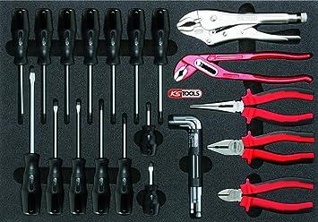 KS Tools 815.1150 Pack Destornilladores y alicates/tenazas, Set de ...