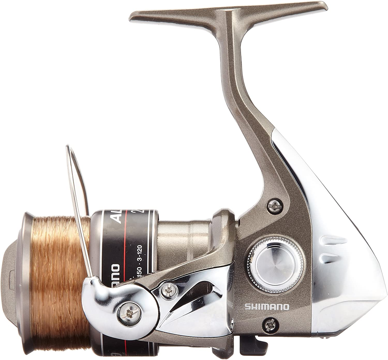 Shimano 11 Alivio 2500 Saltwater Spinning Reel with Nylon #3-120m Line 027726