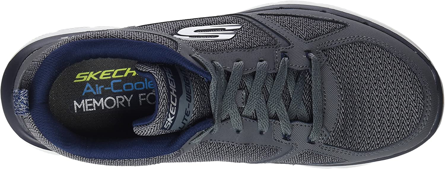Skechers Sport Men's Flex Advantage 2.0 Sneaker Charcoal/Blue