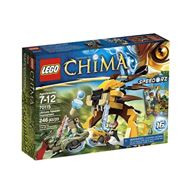 LEGO Chima Ultimate Speedor Tournament 70115: Toys & Games
