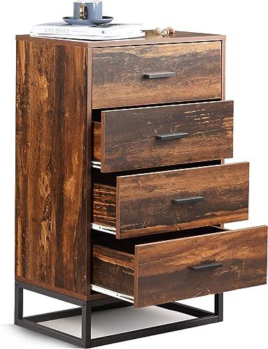 Cheap WLIVE 4 Drawer Chest bedroom dresser for sale