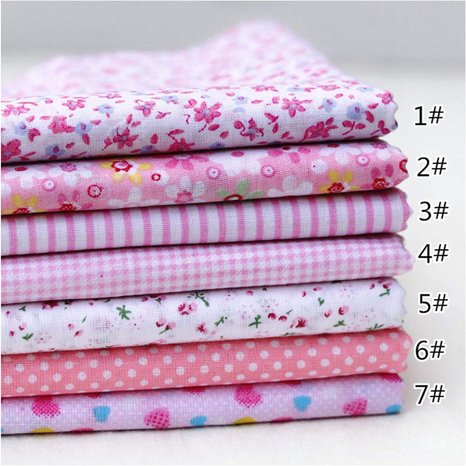 Mixed Style Cloth Material Handmade DIY 100/% Cotton Fabric Kids Floral Print Sewing Patchwork,Orange