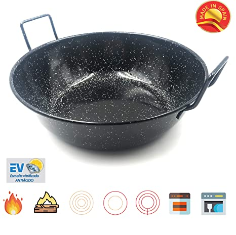 Amazon.com: Sunny Spain SSP22424 Professional Paella Steel ...