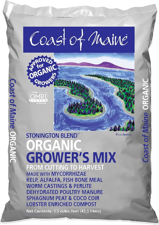 Coast of Maine – Platinum Grower's Mix, Super Soil, Stonington Blend