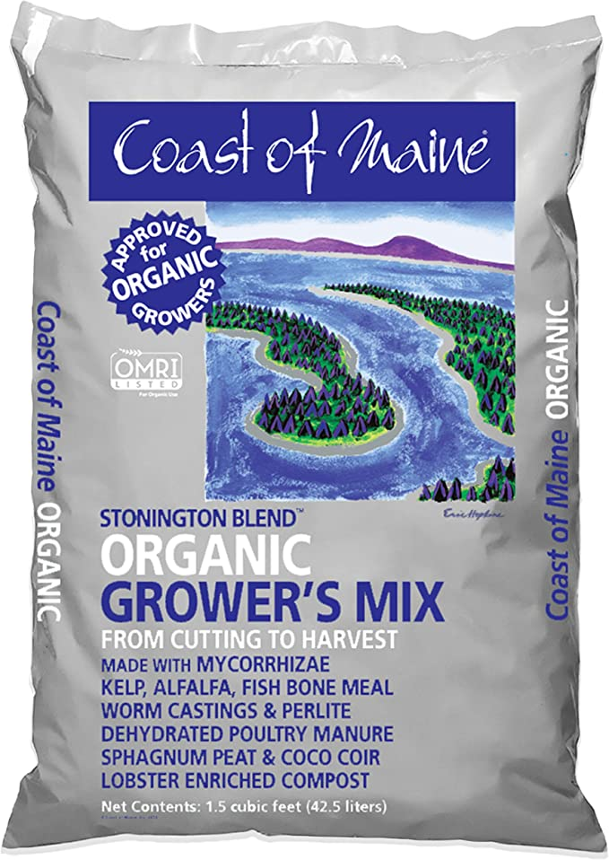 Coast of Maine Platinum Grower's Mix - High-Performance Growing
