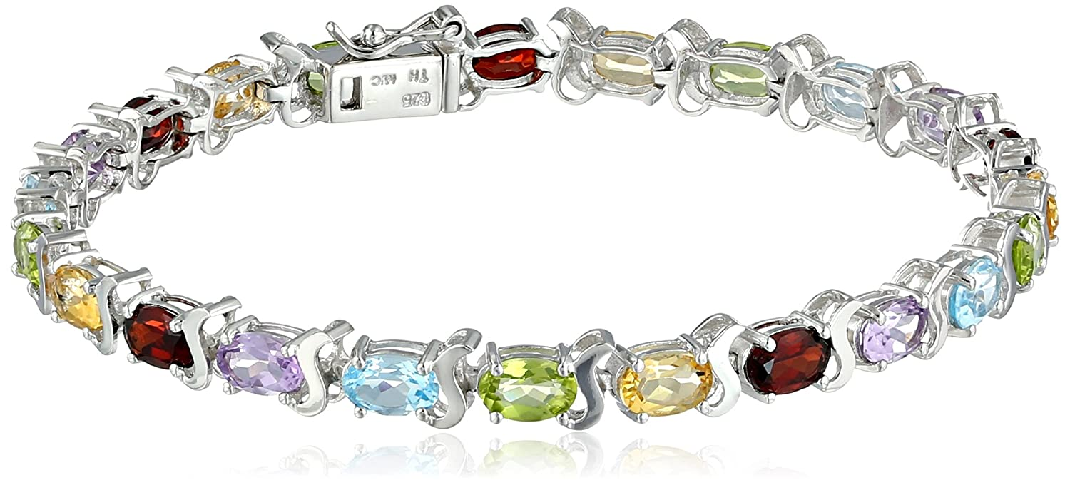 artistic bracelets gemstone flat opened innovations kay festive link multi and signature cp collections bracelet