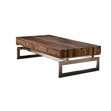 en soldes e6798 8ddf8 Hogar Decora Table basse 140 x 41 x 80 cm: Amazon.fr ...
