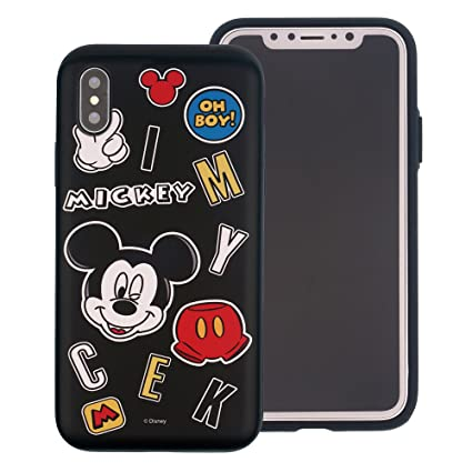 official site best authentic speical offer iPhone XS Max Coque [Heavy Drop Protection] Disney Mignon Couche Hybride  [TPU + PC] Coque Antichoc pour [Apple iPhone XS Max (16,5 cm)] Icon Mickey  ...