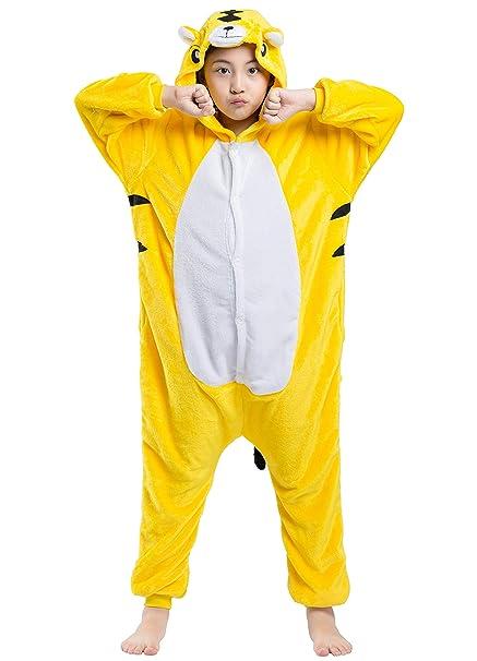 9d3a5346e569 Amazon.com  Kids Animal Pajama Children Unisex Cosplay Costume Onesie
