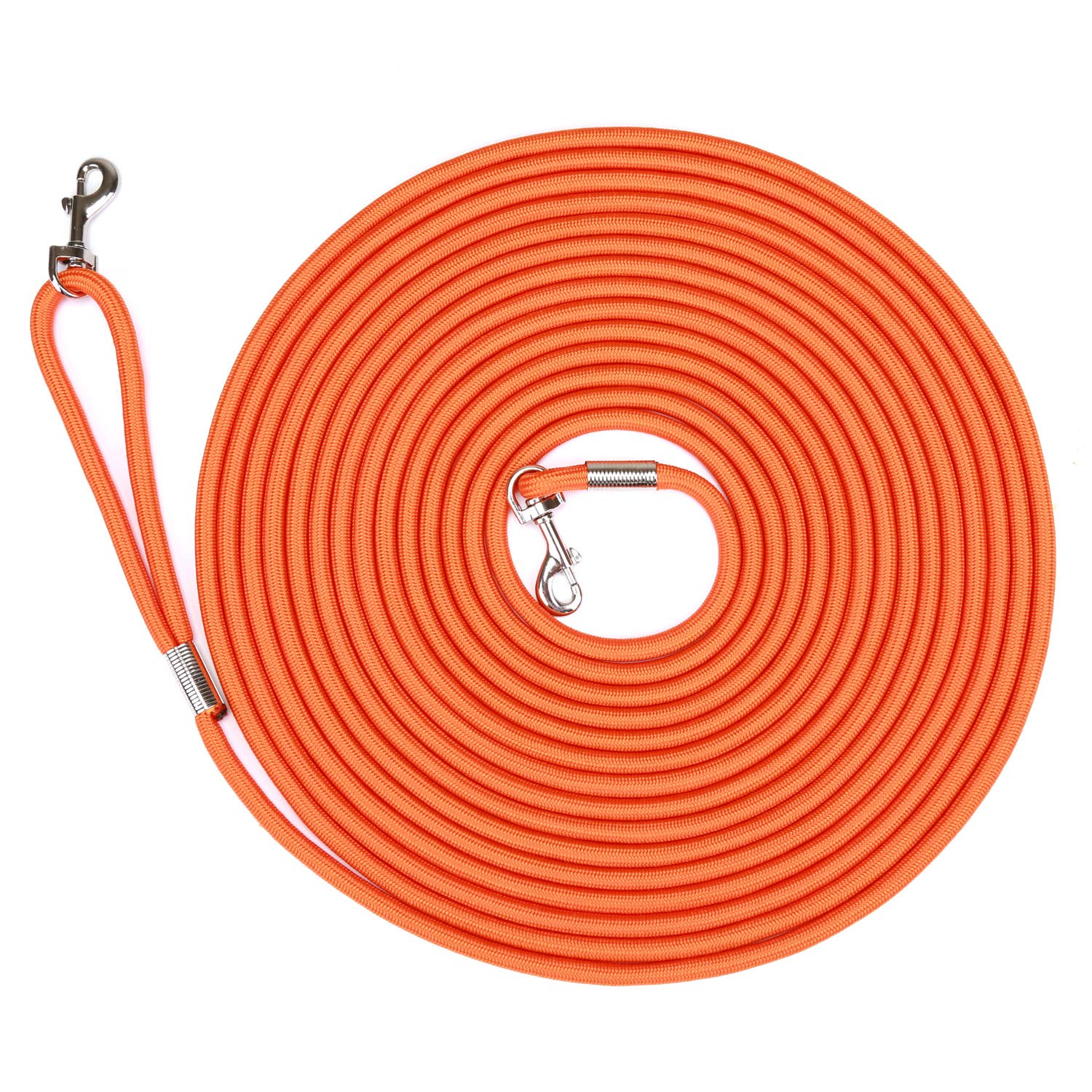 HIKISS Tranining Dog Leash Orange 30 Feet by Hi Kiss