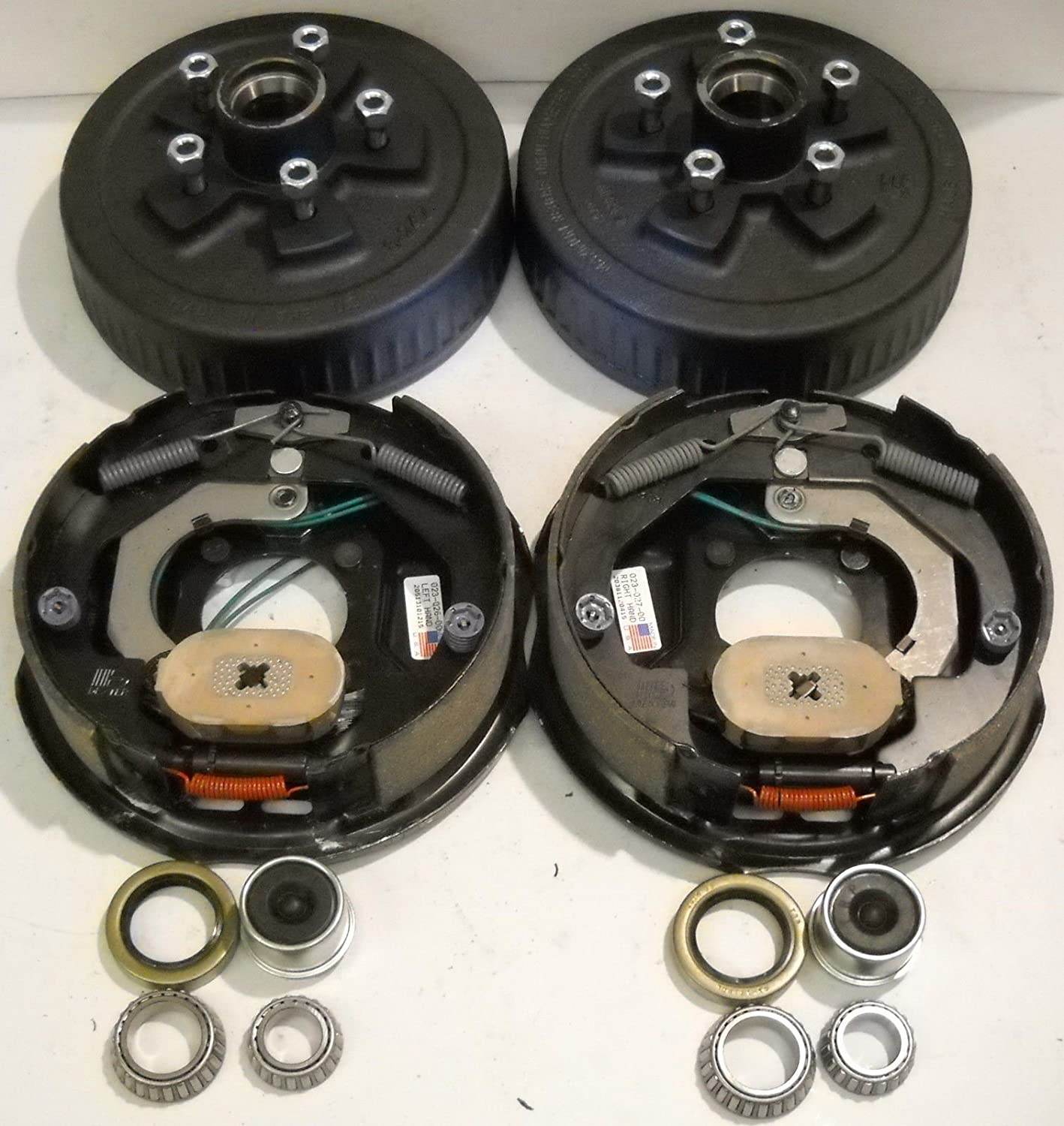 Genuine Dexter 3500# Add Brakes to Your Trailer Basic Kit 5 x 4.5 with Backing Plates & Drums