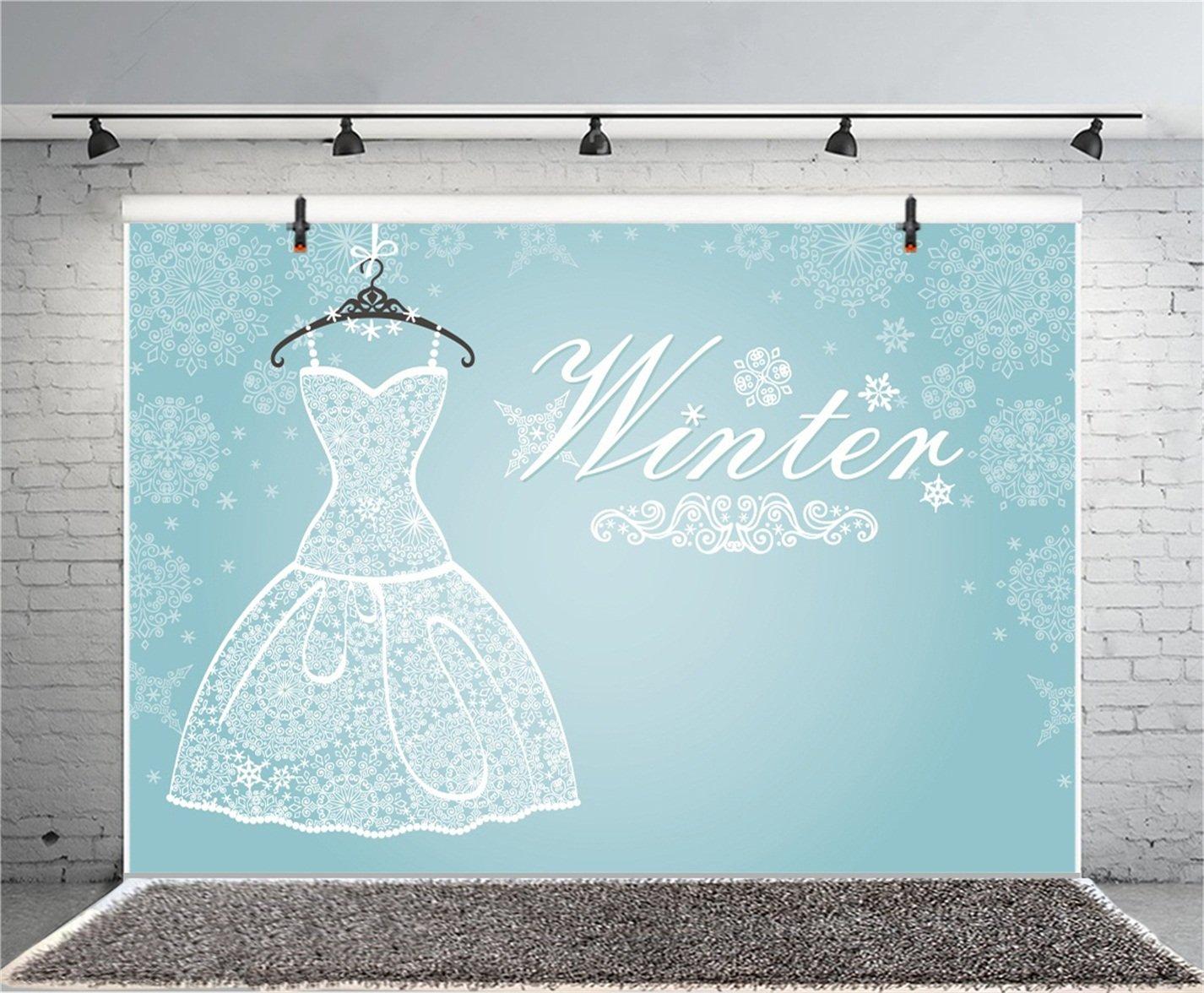 Amazon Csfoto 5x3ft Background For Winter Wedding Party