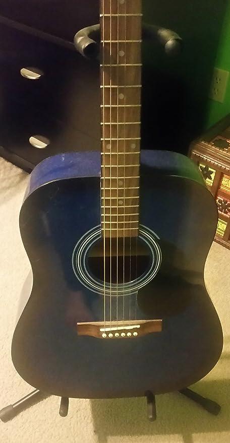 Rogue guitarra acústica – azul Burst: Amazon.es: Instrumentos ...