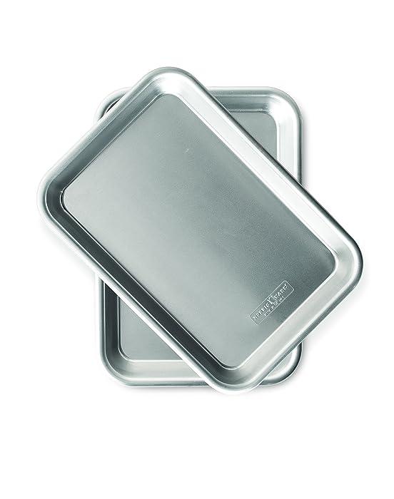 Nordic Ware 36570 Burger Serving Trays - 2 Piece Set, Aluminum
