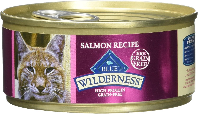 Blue Buffalo Wilderness Cat Food - Salmon - 5.5 Oz