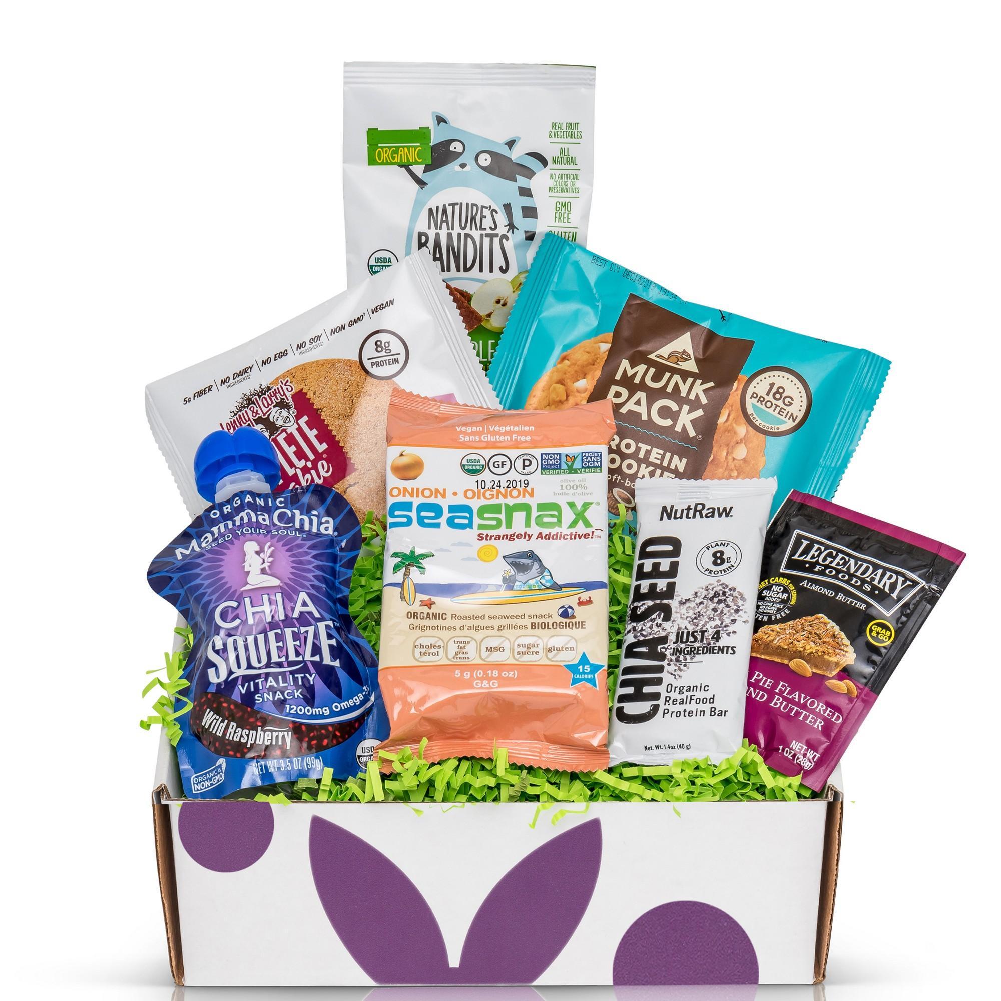 Bunny James Boxes - Vegan Snack Subscription: 7 snacks