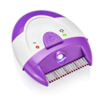 TopoCare Peigne à poux Finito électronique, détecte et détruit les poux à son contact, sans produit chimique