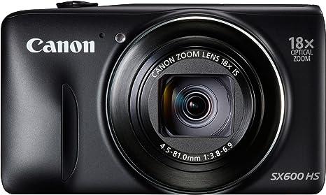 Canon Powershot SX600 HS - Cámara compacta de 16.6 MP (Pantalla de ...
