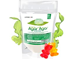 Agar Agar Powder 2oz : Vegan Gelatin Substitute, Unflavored, Pudding, Panna Cotta, Vegan Cheese, Yogurt, Mushroom Cultivation