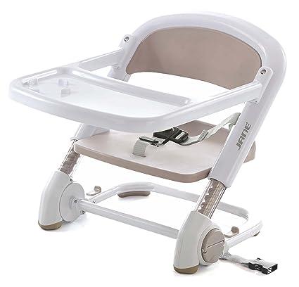 Jané Booster - Silla para bebés convertible en trona, color blanco/crema