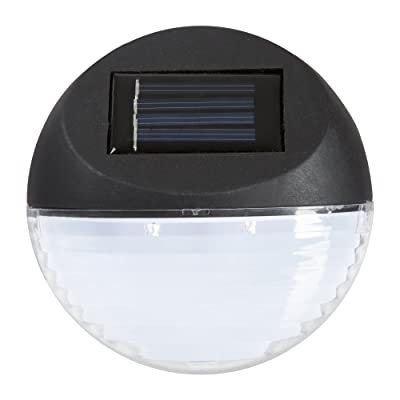 Pure Garden Solar Lights – Outdoor Rechargeable Battery Powered LED Exterior Lighting with Auto On for Home, Patio, Deck and Driveway : Garden & Outdoor