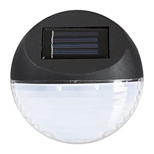 Pure Garden Solar Lights – Outdoor Rechargeable Battery Powered LED Exterior Lighting with Auto On for Home, Patio, Deck and Driveway