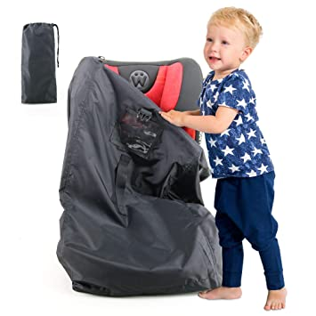 cec88714f084 Car-Seat-Travel-Bag for Gate Check and Air Travel, Carseat Carrier 1 Pack  Fits in Stroller Infant Carriers &...