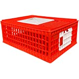 """RentACoop Poultry Carrier Crate 29"""" L x 22"""" W x 12"""" H for Chickens"""