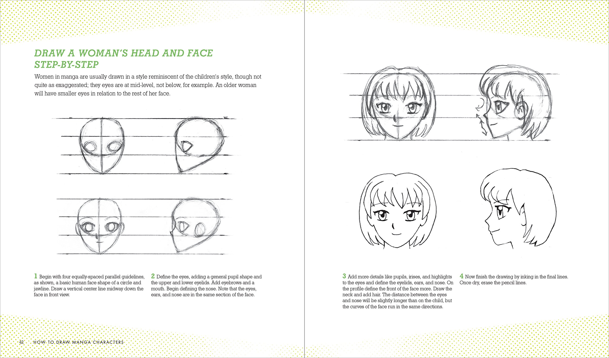 7f3e4906b95a3c How to Draw Manga Characters  A Beginner s Guide  J.C. Amberlyn   9781580934534  Amazon.com  Books