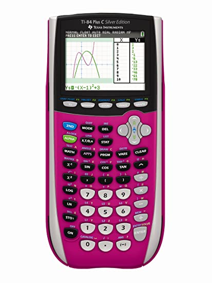 Image Unavailable Not Available For Color Texas Instruments TI 84 Plus C Silver Edition Graphing Calculator