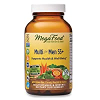 MegaFood, Multi for Men 55+, Supports Optimal Health and Wellbeing, Multivitamin...